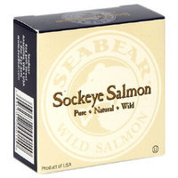 SeaBear Fancy Canned Sockeye Salmon, 3.75-Ounce Units (Pack of 4)
