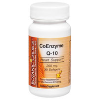 Botanic Choice CoEnzyme Q-10 200 mg Dietary Supplement Softgels