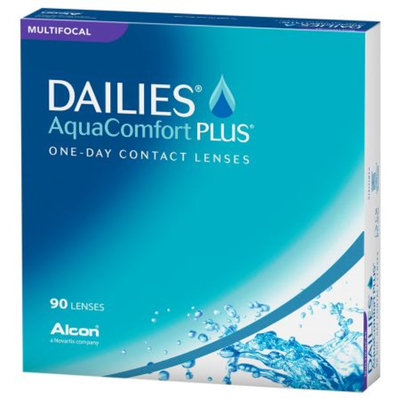 DAILIES AquaComfort + Multifocal 90pk Dailies AquaComfort Plus Multifocal 90 pack