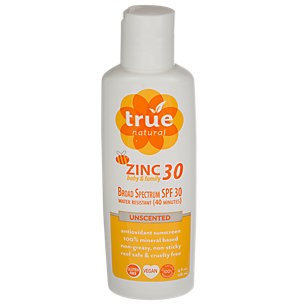 True Natural Broad Spectrum Spf Zinc Baby Family