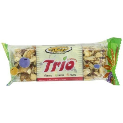 Mrs Mays Mrs. May's Trio Bar Variety Pack, 1.2-Ounce bars (Pack of 20)