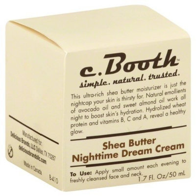 c. Booth Shea Butter Nighttime Dream Cream 1.7 fl oz (50 ml)