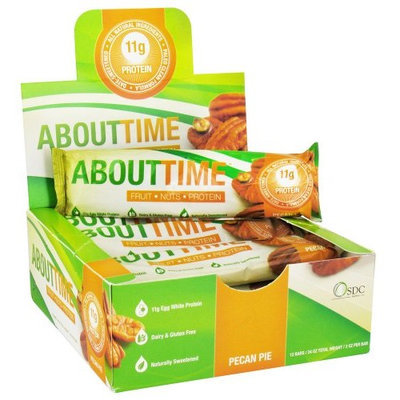 About Time 100% All Natural Fruit, Nuts & Protein Bar, Pecan Pie Flavor