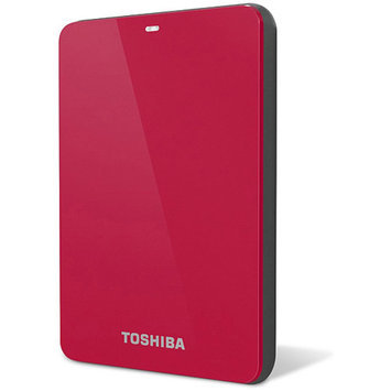 Toshiba Retail Hard Drives Canvio Connect 1TB Red