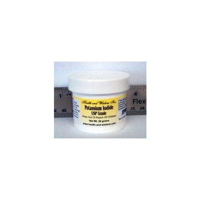 Health and Wisdom Potassium Iodide USP Grade 26 Grams