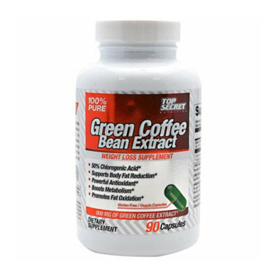 Top Secret Nutrition Green Coffee Bean Extract 90 capsules