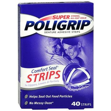 Super PoliGrip Denture Adhesive Powder