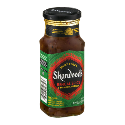 Sharwood's Bengal Spice & Mango Chutney Sweet & Spicy