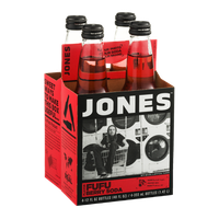 Jones Soda Fufu Berry Flavor - 4 CT