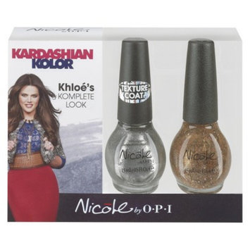 Nicole By OPI Nicole by OPI Kardashian Nail Color Set - Disco Dolls & Silver Texture