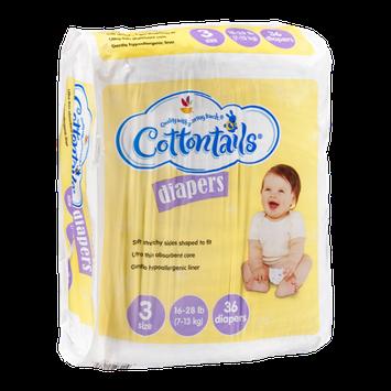 Cottontails Diapers Size 3 - 16-28 lb