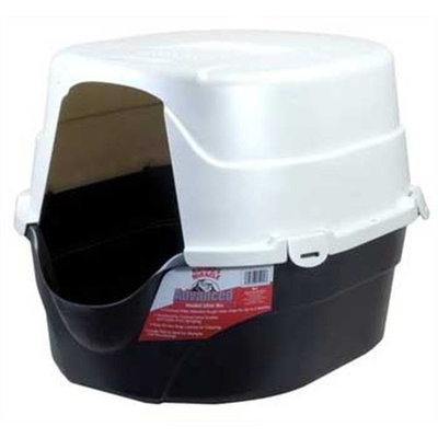 Natures Miracle Advanced Oval Hooded Litter Box