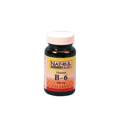 Natrul Health Vitamin B-6 100 Mg Tablets - 100 Ea