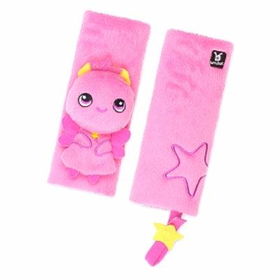 BenBat Seat Belt Pals Pads 0-12 mo FAIRY set of 2, Pink, 1 ea
