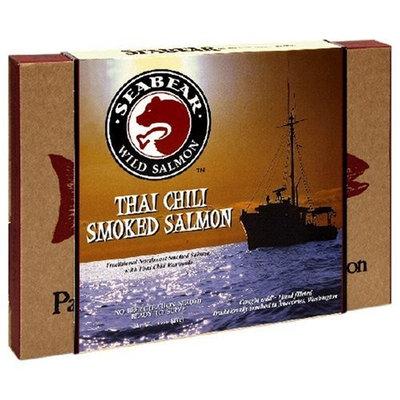 SeaBear Thai Chili Smoked Salmon, 6-Ounce Units (Pack of 2)