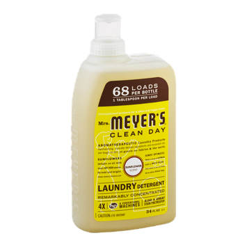 Mrs. Meyer's Clean Day Laundry Detergent Sunflower Scent
