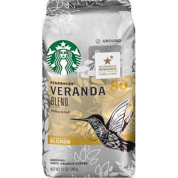 Starbucks Coffee Blonde Roast Veranda Ground