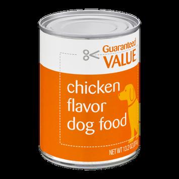 Guaranteed Value Dog Food Chicken Flavor