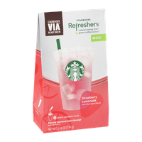 Starbucks Refreshers VIA Ready Brew Strawberry Lemonade