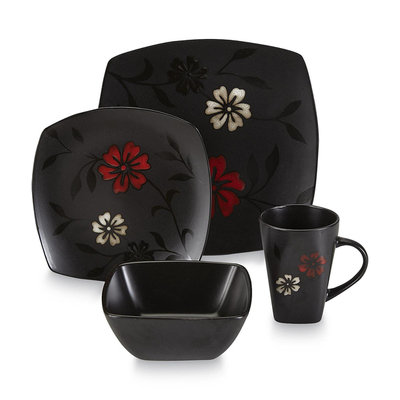 Current's Tackle Essential Home Mystic Floral 16pc Dinnerware Set
