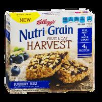 Kellogg's® Nutri-grain® Fruit & Oat Harvest Bars Blueberry Bliss