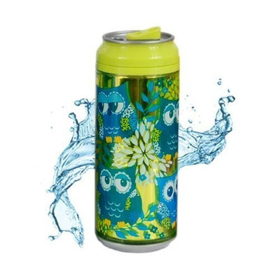 Cool Gear 16 oz. Can Chiller Graphics Design 1619 (Color & Design May Differ)