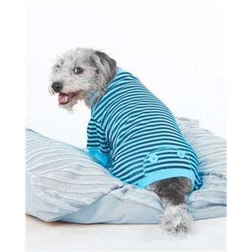 Fashion Pet Blue STRIPED PJ'S, Medium