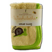 Little Twig Accessories Washcloth Triple Pack, 1 ct