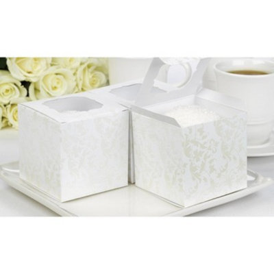 Hortense B. Hewitt Pearl Cupcake Boxes - 24ct