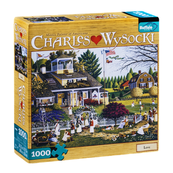 Buffalo Games 1000-Piece Charles Wysocki Puzzle Love