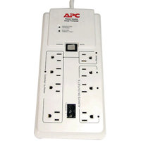 APC P8Gt 8-Outlet Surge Protector With Master Controlled Outlets