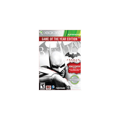 Warner Home Video Games Batman: Arkham City Game of the Year Edition