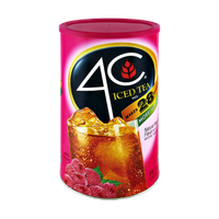 4C Natural Raspberry Flavor Iced Tea Mix