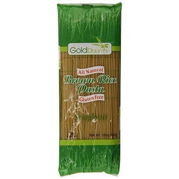 Goldbaum s Goldbaum?s Pasta, Brown Rice Spaghetti, 16-Ounce (Pack of 6)