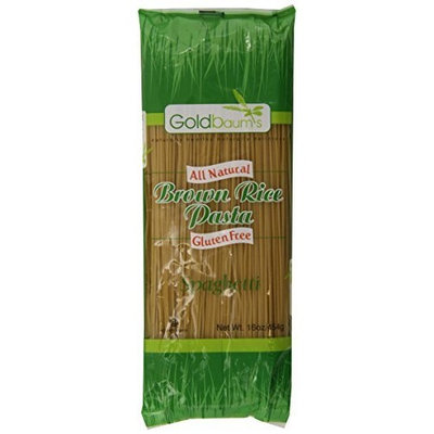 Goldbaum s Goldbaum?s Pasta, Brown Rice Spaghetti, 16-Ounce (Pack of 6)