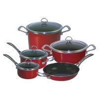 Chantal 9pc Copper Fusion Cookware Set