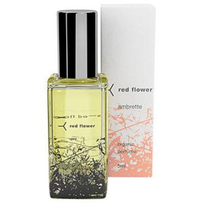 red flower Roll-On Organic Perfume