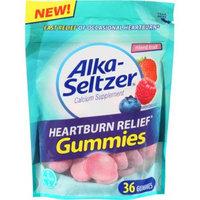 Alka-Seltzer Heartburn Relief Mixed Fruit Gummies, 36 count