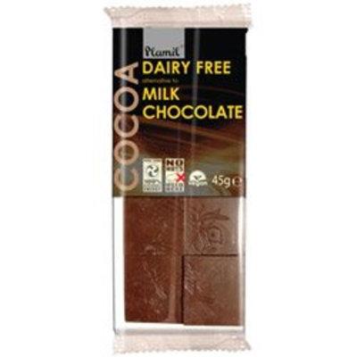 Plamil Molkerei kostenlose Alternative zu Milchschokolade 45g bar x 1