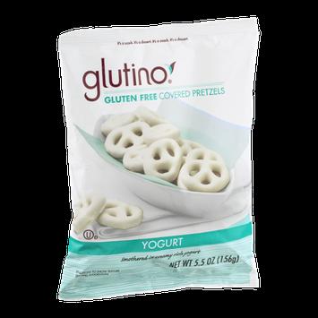 Glutino Gluten Free Covered Pretzels Yogurt