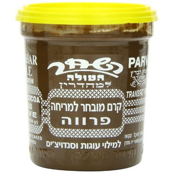 Hashachar Parve Chocolate Spread, 16-Ounce (Pack of 6)
