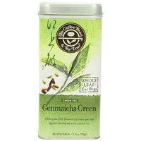 The Coffee Bean & Tea Leaf, Tea, Hand-Picked Genmaicha Green, 20-Count Tins (Pack of 3)