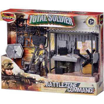 The Corps Total Soldier Battle Zone Command Station Ages 3 +, 1 ea