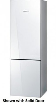 Bosch - 800 Series 10.0 Cu. Ft. Counter-depth Refrigerator - White