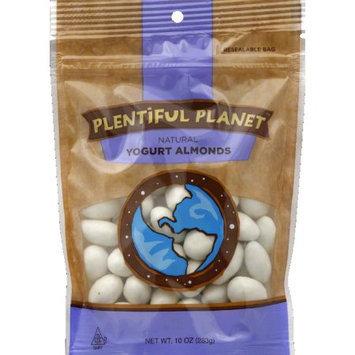 Plentiful Planet Snck Yogurt Almond Bag 10 OZ (Pack of 6)