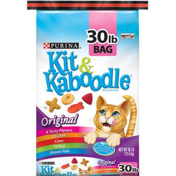 Purina Kit & Kaboodle Original Dry Cat Food, 30 lbs