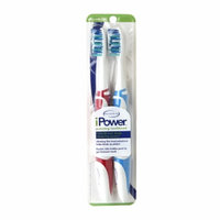 BrushPoint iPower Battery Twin Pack Toothbrush