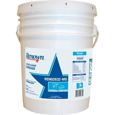 Renown 107464 Renown Citrus Cleaner Degreaser 5Gl-Pl