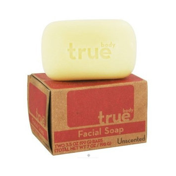 True Body Products True Body Bar Soap,Body,Unscented 3/4.5 oz