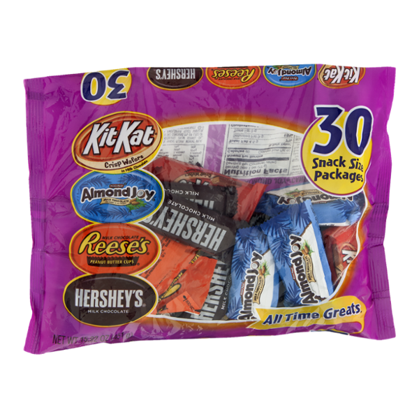 Hershey's All Time Greats Assortment Snack Size - 30 CT